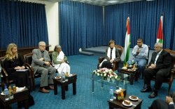 Delegates of The Elders Group of Retired Prominent World A Visit to Gaza