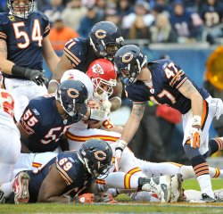 Bears tackle Chiefs Palko in Chicago