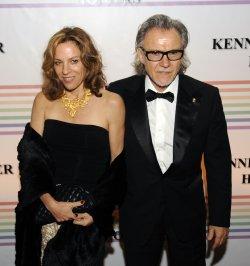 Harvey Keitel and Daphna Kastner arrive at Kennedy Center Honors in Washington