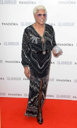 "Dionne Warwick attends the ""Glamour Women Of The Year Awards 2012"" in London."