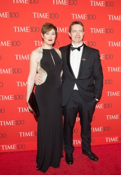 Michael Gillon arrives at the TIME 100 Gala in New York
