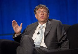 Bill Gates delivers remarks during the XIX International AIDS Conference in Washington