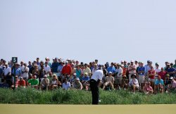 Round Three at the PGA Championship in South Carolina