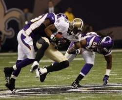 New Orleans Saints vs Minnesota Vikings at the Louisiana Superdome.