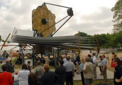 NASA DISCUSSES PLANS FOR NEW SPACE TELESCOPE IN WASHINGTON