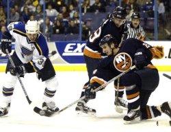 New York Islanders vs St. Louis Blues hockey