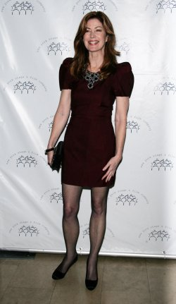 Dana Delany arrives for the New York Stage and Film's Annual Gala in New York