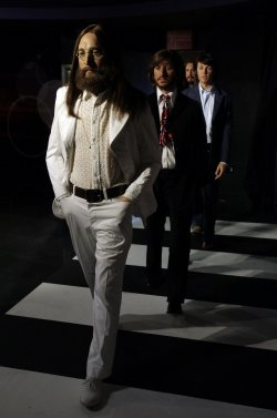 Beatles Wax Figures Recreate Abbey Road on Paul McCartney's 70th Birthday at Madame Tussauds in New York