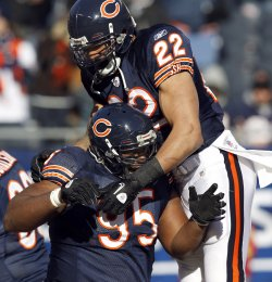 Bears Forte and Adams Before NFC Championship Against Packers
