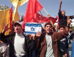 Anti Israeli demonstrations in Gaza