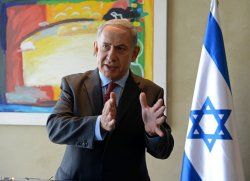 Israel Prime Minister Benjamin Netanyahu Makes Statement On Iran After Meeting US Secretary Of State John Kerry