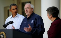 President Obama Discusses Hurricane Irene at the White House