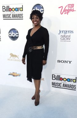 Singer Gladys Knight arrives at the 2012 Billboard Music Awards in Las Vegas, Nevada