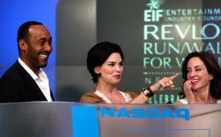 ENTERTAINMENT INDUSTRY FOUNDATION RINGS NASDAQ CLOSING BELL IN NEW YORK