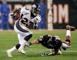 NFL Football Denver Broncos vs Chicago Bears