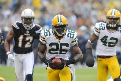 Green Bay Packers at San Diego Chargers