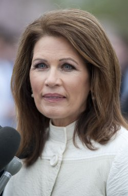 Rep. Michele Bachmann speaks on repealing the health care reform bill in Washington