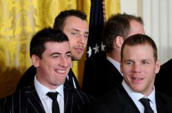Boston Bruins Honored at the White House