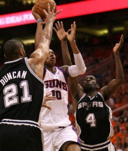 NBA PLAYOFFS WESTERN CONFERENCE SEMIFINALS SAN ANTONIO SPURS VS PHOENIX SUNS