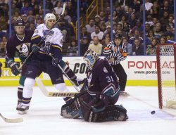 St. Louis Blues vs Anaheim Mighty Ducks hockey