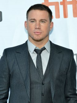 Channing Tatum attends 'Foxcatcher' premiere at the Toronto International Film Festival
