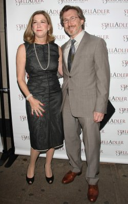 "Leslie Larson and her husband attend ""Stella by Starlight"" gala in New York"