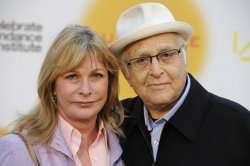 Norman Lear and wife Lyn attend the Celebrate Sundance Institute benefit held at Franklyn Canyon Ranch in Beverly Hills