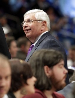 NBA Commissioner David Stern at Madison Square Garden in New York