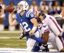 Indianapolis Colts vs Buffalo Bills in Indianapolis