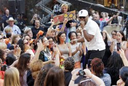 New Kids On The Block, 98 Degrees, & Boyz II Men perform on the NBC Today Show