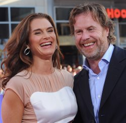 "Brooke Shields and Chris Henchy attend ""The Campaign"" premiere in Los Angeles"