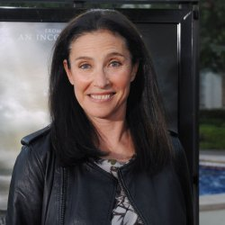 """Mimi Rogers attend the """"Waiting for Superman"""" premiere in Los Angeles"""