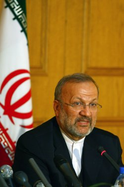 Iranian Foreign Minister Mottaki meets with Lebanese Foreign Minister Shami in Tehran