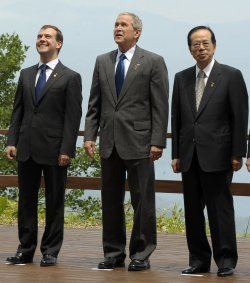Official G8 Summit photo in Japan