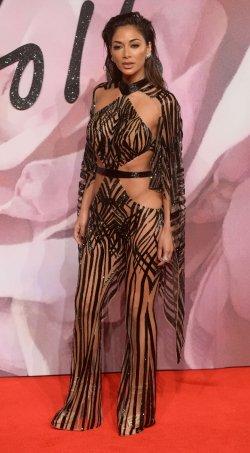 Nicole Scherzinger at The Fashion Awards in London