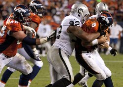 Denver Broncos Host Oakland Raiders for NFL Season Opener in Denver