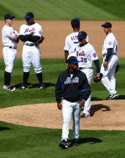 New York Mets host Philadelphia Phillies last opening day at Shea Stadium