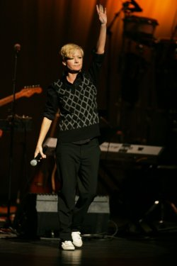 Shelby Lynne performs at the Theatre Within's 30th Annual John Lennon Tribute in New York