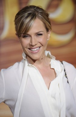 "Julie Benz attends the premiere of the film ""Tangled"" in Los Angeles"