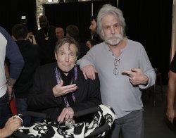 Bob Weir and John Perry Barlow at Wheels Up Super Bowl