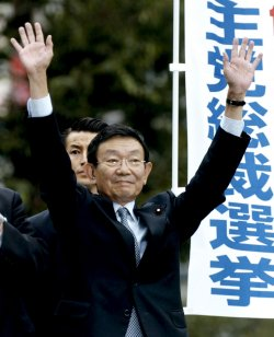 LDP's election campaign start in full swing in Japan