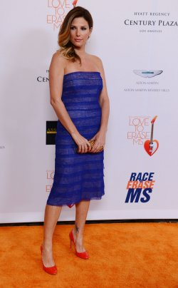 Daisy Fuentes attends the 20th annual Race to Erase MS gala in Los Angeles