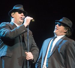 The Blues Brothers perform at River Rock Casino near Vancouver