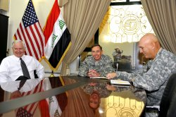 Gen. Odierno takes control of Multi-Naitonal Force Iraq in Baghdad