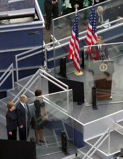 Tenth Anniversary of 9/11 at Ground Zero in New York