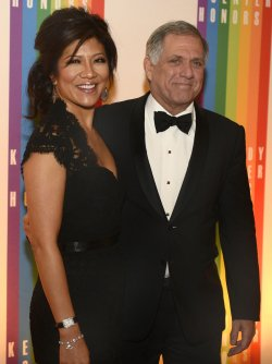Les Moonves and Julie Chen arrive for 2013 Kennedy Center Honors Gala in Washington DC