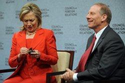 Sec. State Clinton speaks in Washington