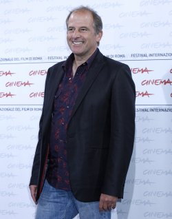 Michael Hoffman arrives at a photocall during the Rome International Film Festival
