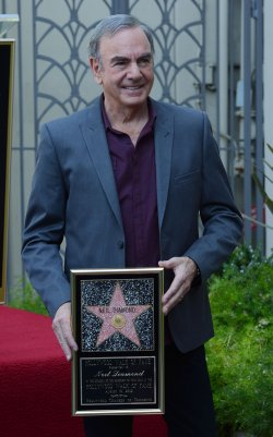 Neil Diamond receives a star on the Hollywood Walk of Fame in Los Angeles