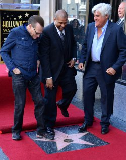 Tavis Smiley honored with star on Hollywood Walk of Fame in Los Angeles